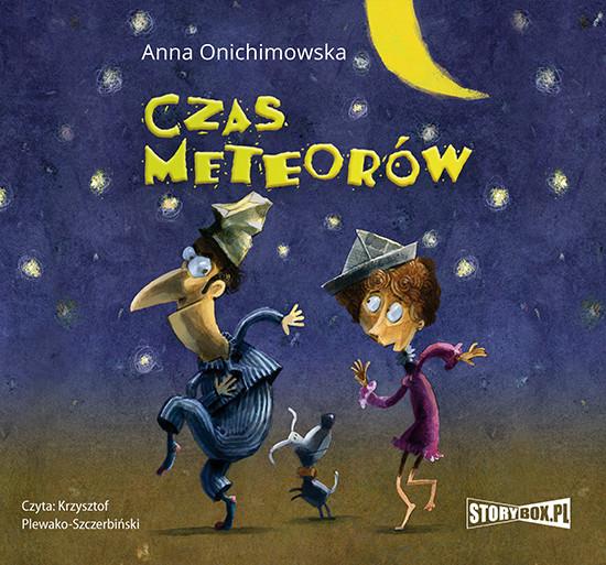 okładka Czas meteorów, Audiobook | Anna Onichimowska