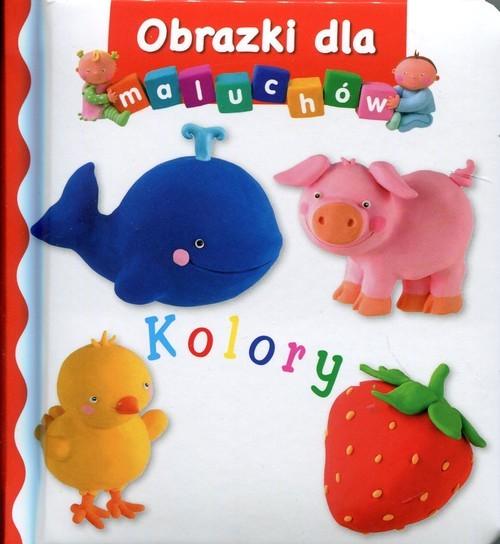 okładka Kolory Obrazki dla maluchów, Książka | Beaumont Emilie