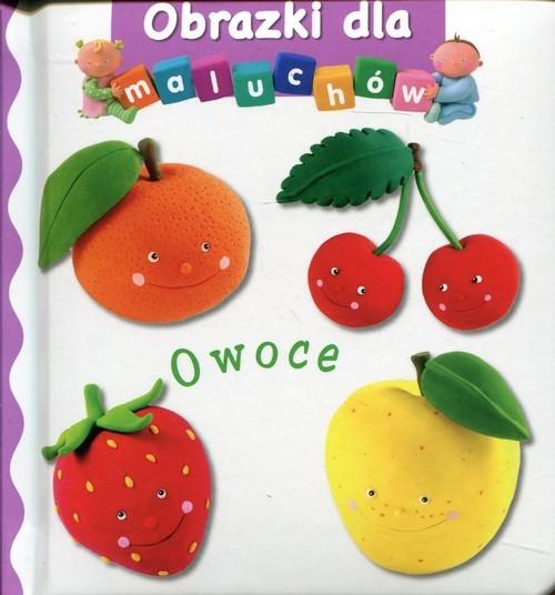 okładka Owoce Obrazki dla maluchów, Książka |