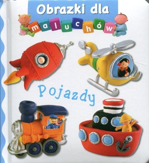 okładka Pojazdy Obrazki dla maluchów, Książka |