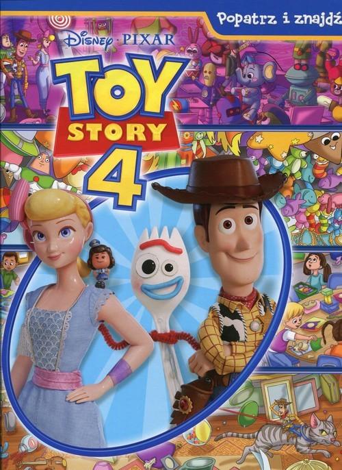 okładka Disney Toy Story 4 Popatrz i znajdź, Książka |