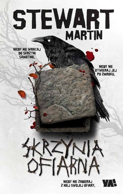 okładka Skrzynia ofiarna, Książka | Stewart Martin