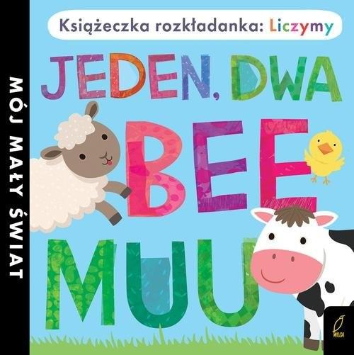 okładka Książka rozkładanka Jeden dwa bee muu, Książka |