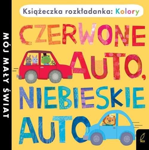 okładka Książka rozkładanka Czerwone auto niebieskie auto, Książka |