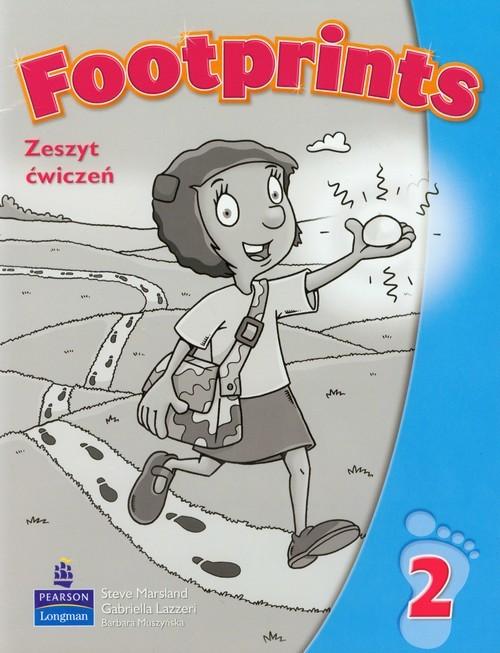 okładka Footprints 2 Zeszyt ćwiczeń + Poradnik dla rodziców szkoła podstawowa, Książka |