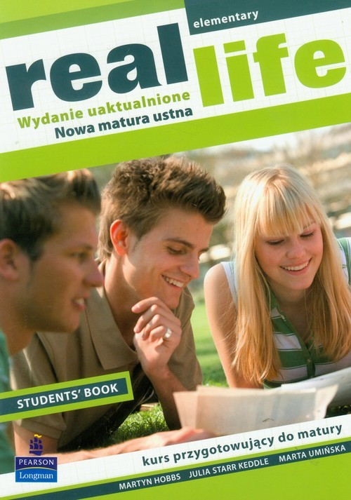 okładka Real Life Elementary Student's Book, Książka | Martyn Hobbs, Marta Umińska