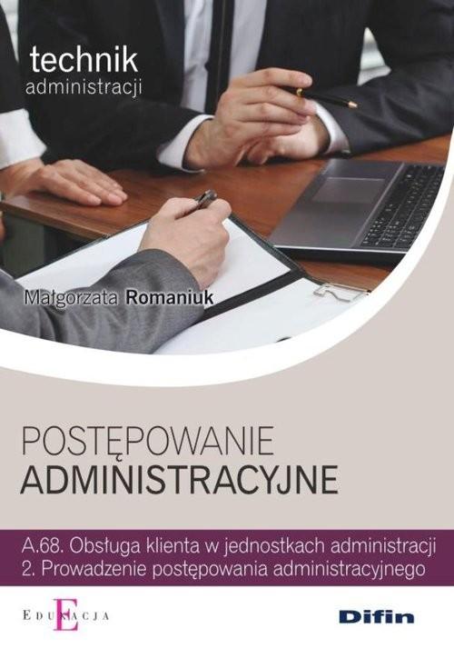 okładka Postępowanie administracyjne, Książka | Romaniuk Małgorzata