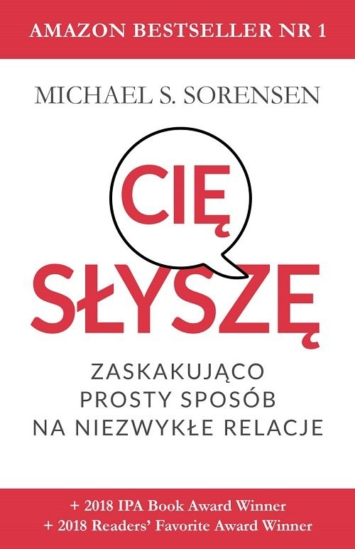okładka Słyszę cię, Książka | Michael S. Sorensen