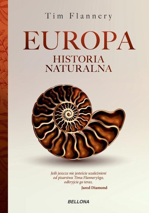okładka Europa. Historia naturalna, Książka | Flannery Tim