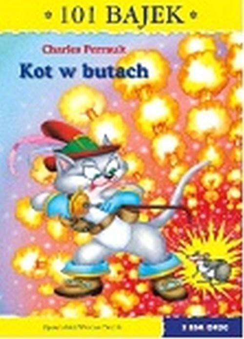 okładka Kot w butach 101 bajek, Książka | Charles Perrault