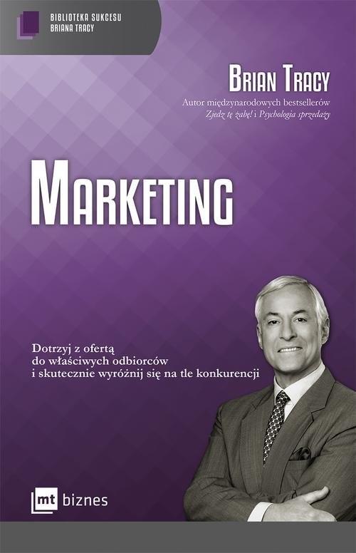 okładka Marketing, Książka | Tracy Brian