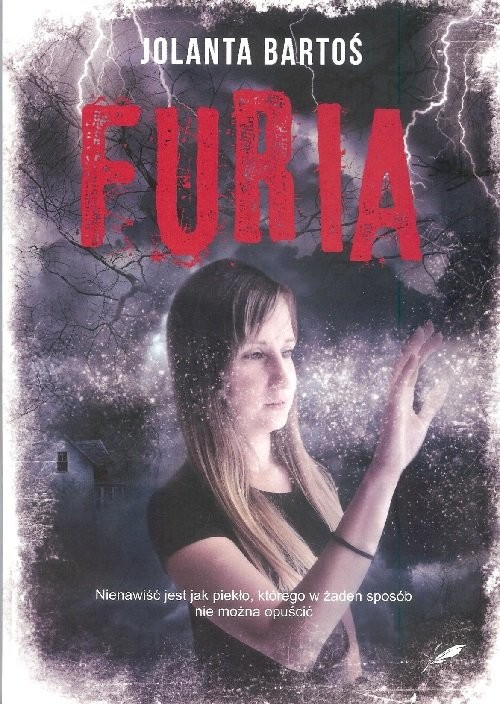 okładka Furia, Książka | Bartoś Jolabta