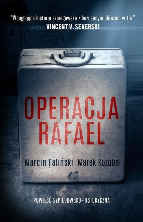 okładka Operacja Rafael, Książka | Marcin Faliński, Marek Kozubal