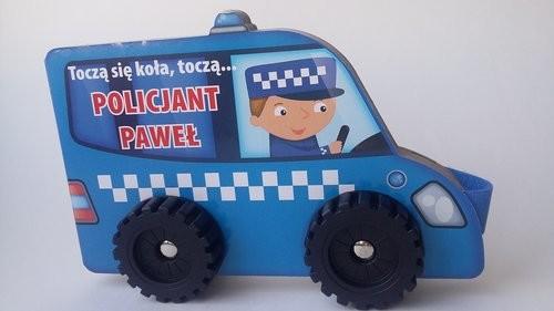 okładka Toczą się koła II Policjant Paweł, Książka |