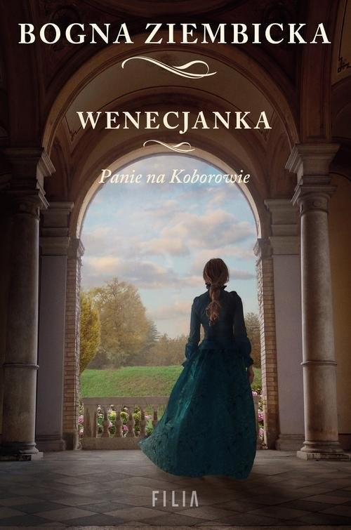 okładka Panie na Koborowie Wenecjanka, Książka | Bogna Ziembicka