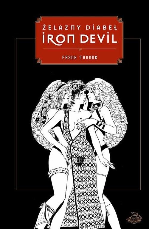 okładka Iron Devil - Żelazny Diabeł, Książka | Thorne Frank