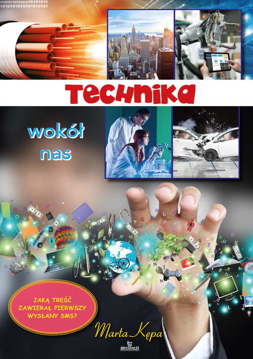 okładka Technika wokół nas, Książka | Kępa Marta