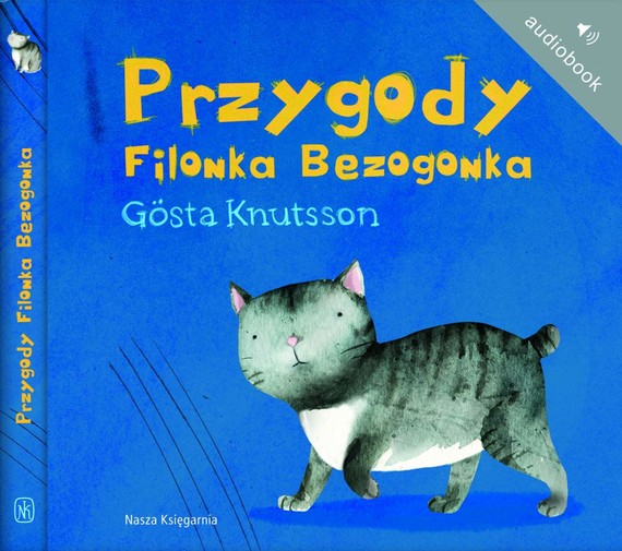 okładka Przygody Filonka Bezogonkaaudiobook   MP3   Gosta Knutsson