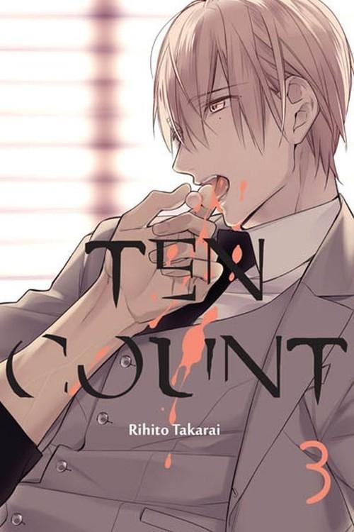 okładka Ten Count #3, Książka | Takarai Rihito