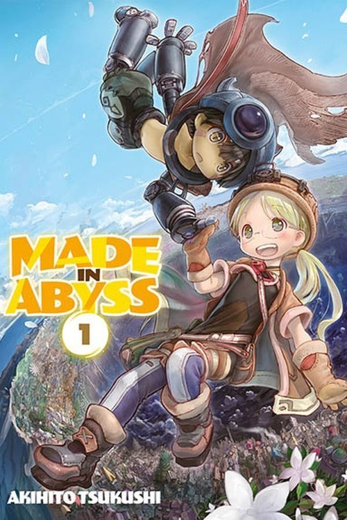 okładka Made in Abyss #01, Książka | Tsukushi Akihito