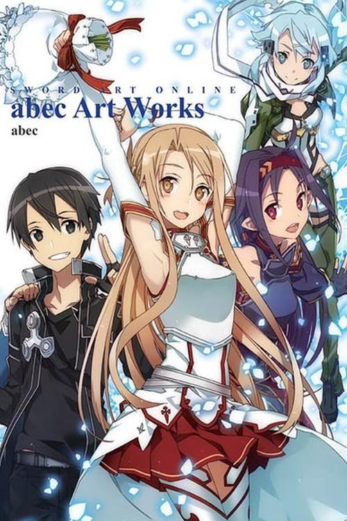 okładka Artbook Sword Art Online, Książka | abec