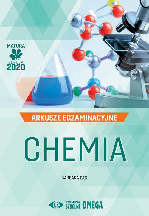 okładka Chemia Matura 2020 Arkusze egzaminacyjne, Książka | Pac Barbara