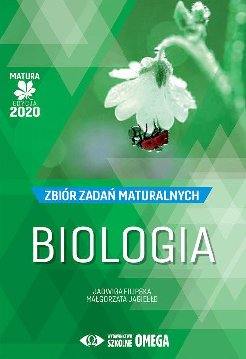 okładka Biologia Matura 2020 Zbiór zadań maturalnychksiążka      Jadwiga Filipska, Małgorzata Jagiełło