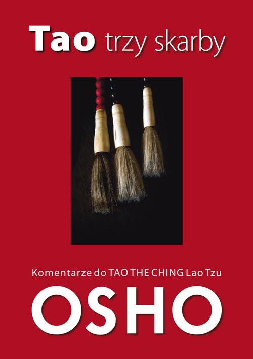 okładka Tao trzy skarby Komentarze do Tao Te Ching Lao Tzuksiążka      OSHO