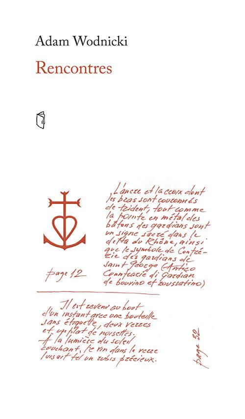 okładka Rencontres, Książka | Wodnicki Adam
