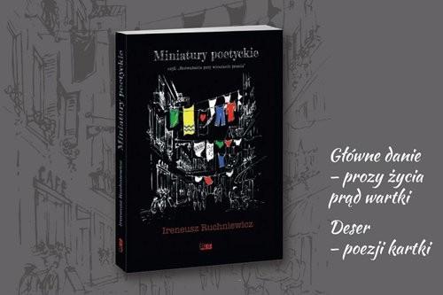 okładka Miniatury poetyckie czyli,,Rozważania przy wieszaniu prania'', Książka | Ruchniewicz Ireneusz