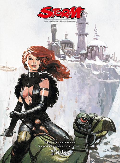 okładka Storm tom 8 Żyjąca planeta Vandaal Niszczyciel, Książka | Don Lawrence, Martin Lodewijk
