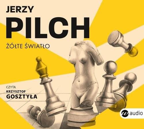 okładka Żółte światło, Książka | Pilch Jerzy