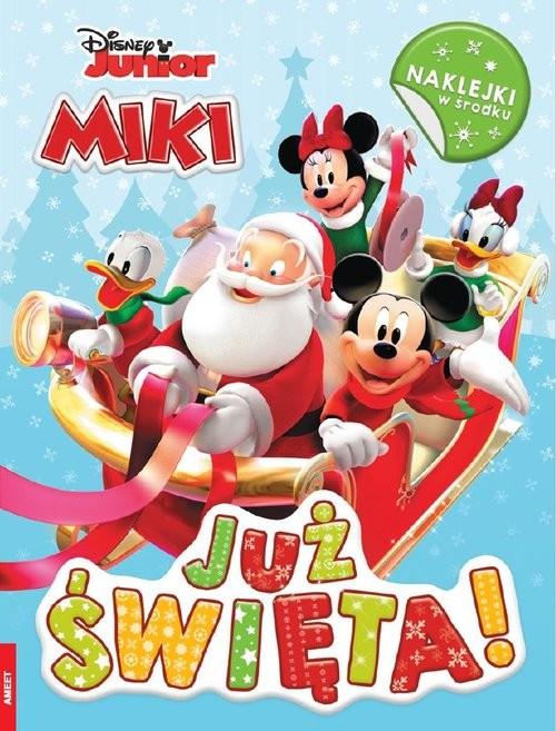 okładka Miki Już święta ZIM-9101, Książka  