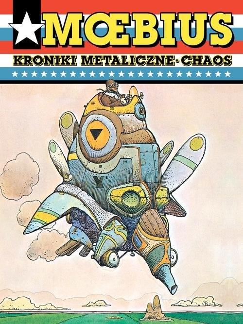 okładka Moebius Kroniki metaliczne Chaos, Książka | Moebius