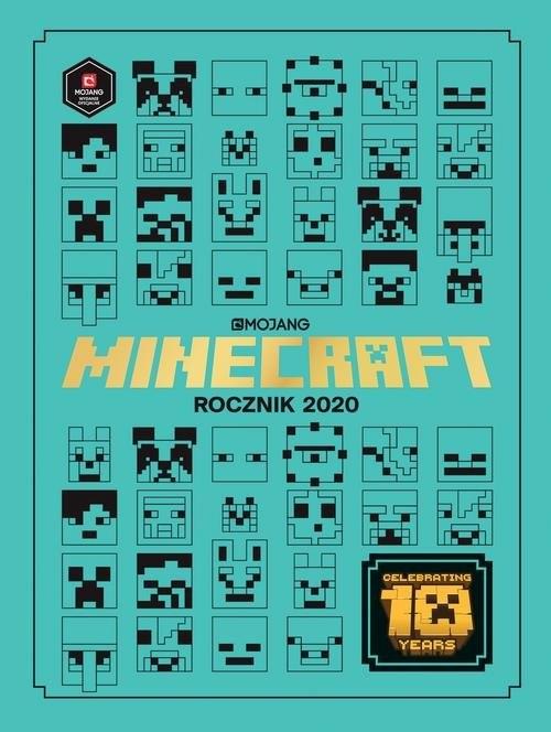 okładka Minecraft Rocznik 2020, Książka | Stephanie Milton, Jane Riordan
