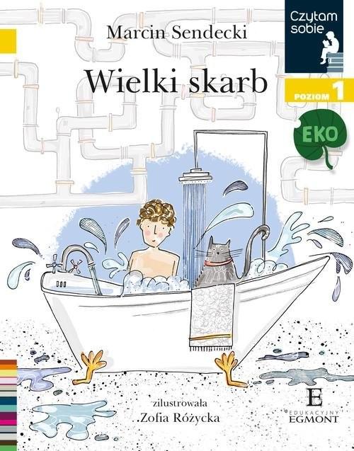 okładka Czytam sobie Eko Wielki skarb Poziom 1, Książka | Sendecki Marcin