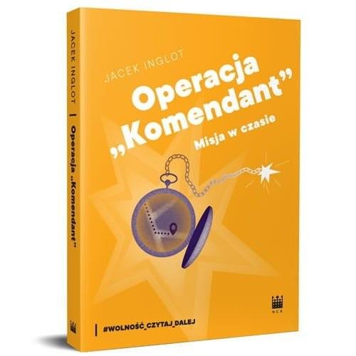 okładka Operacja, Książka   Inglot Jacek