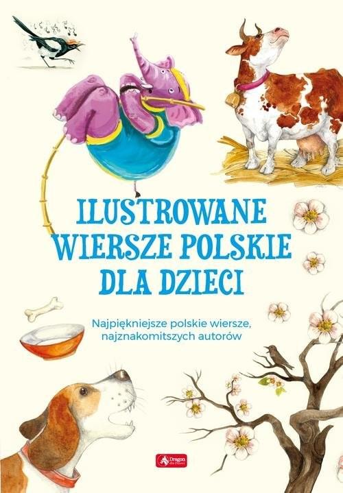 okładka Ilustrowane wiersze polskie dla dzieci, Książka |