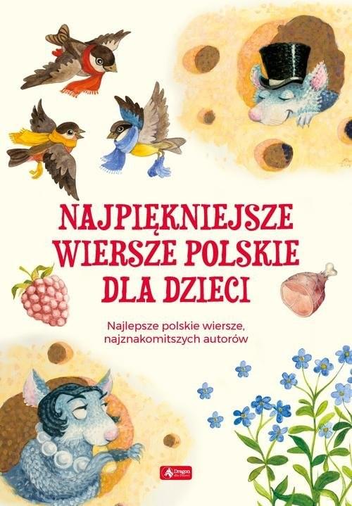 okładka Najpiękniejsze wiersze polskie dla dzieci, Książka |