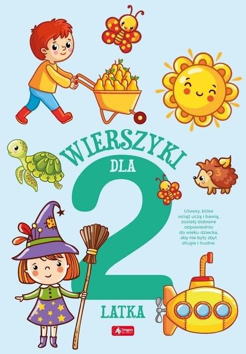 okładka Wierszyki dla dwulatka, Książka |