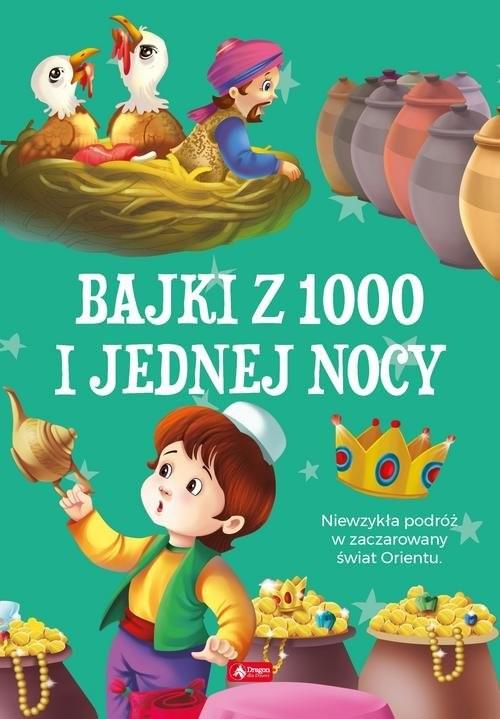 okładka Bajki 1000 i jednej nocy, Książka |