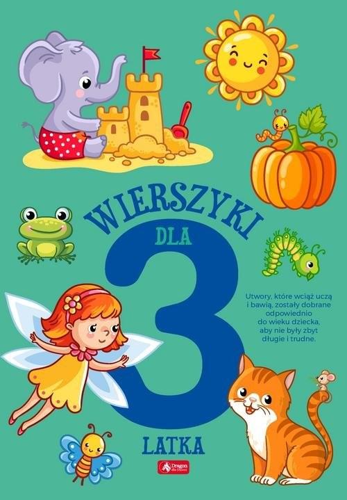 okładka Wierszyki dla trzylatka, Książka |