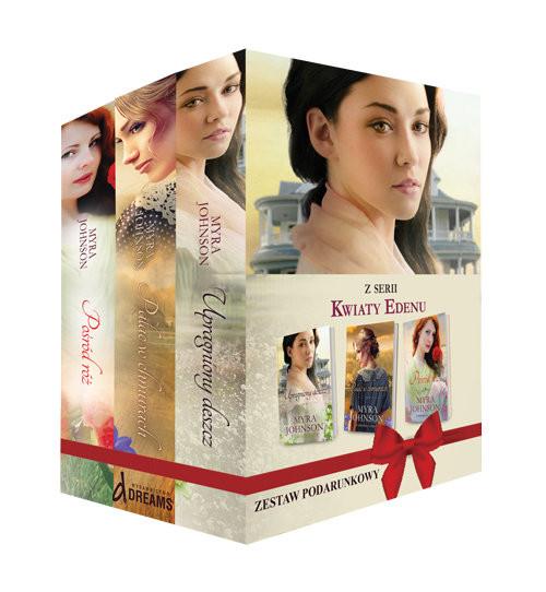 okładka Pakiet Kwiaty Edenu, Książka | Johnson Myra