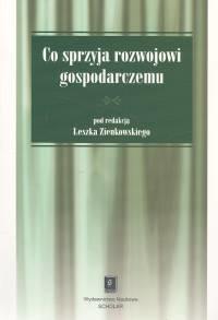 okładka Co sprzyja rozwojowi gospodarczemu, Książka |