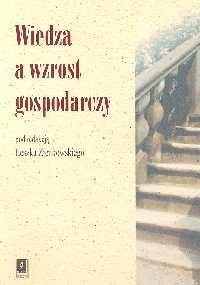 okładka Wiedza a wzrost gospodarczy, Książka |