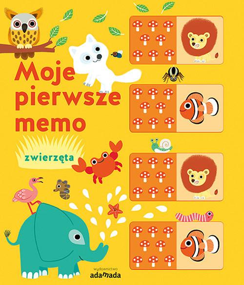 okładka Moje pierwsze memo Zwierzęta, Książka | Mercier Julie
