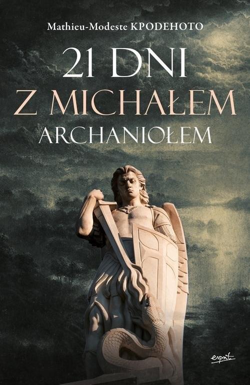 okładka 21 dni z Michałem Archaniołem, Książka | Kpodehoto Mathieu-Modeste