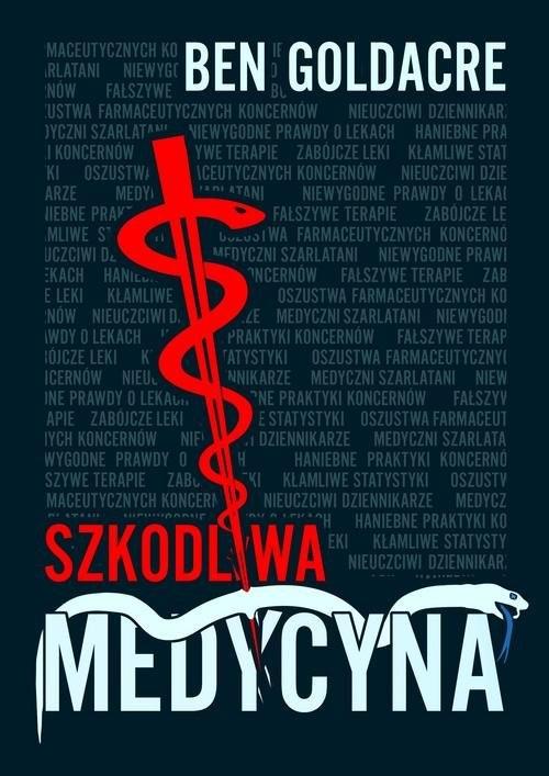okładka Szkodliwa medycyna, Książka | Goldacre Ben