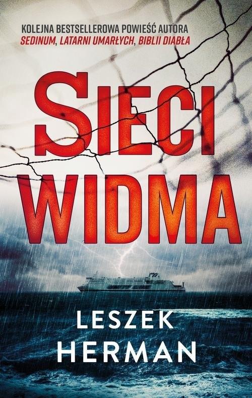 okładka Sieci widma, Książka | Leszek Herman