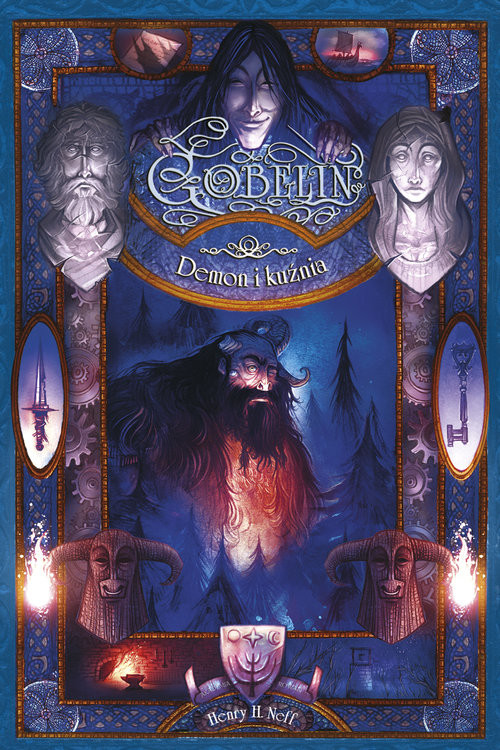 okładka Demon i kuźnia Gobelin, Książka   Henry H. Neff